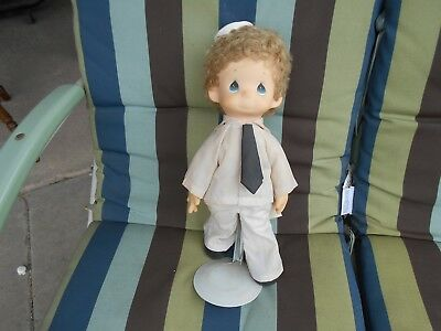 Precious Moments Sailor Doll Used but not played Stored in dry clean area
