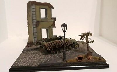Model diorama base (Built by DM-Scale models)