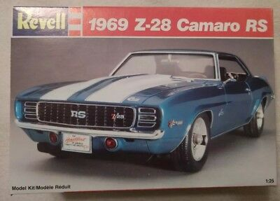 Revell 1969 Chevy Camaro Z28 Rs Sealed 1500 Picclick