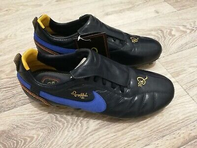 ab2520ab1 Nike Tiempo Ronaldinho FG Blue Soccer Cleats rare R10 legend 10.5 US no box