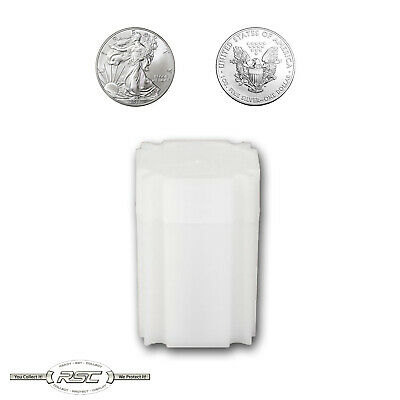 1 - CoinSafe Storage Tube for 1-Oz American Silver Eagle (ASE) - Holds 20 Coins!