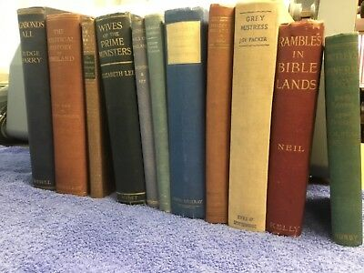 Job Lot of Vintage / Antique Books x 11 items  Lot 4