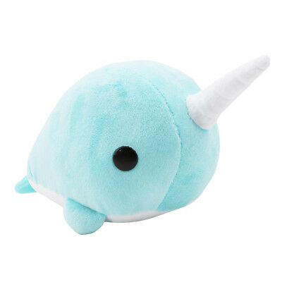 Narwhal Unicorn Whale Xmas Plush Doll Stuffed Animal Toy Kids Gift L