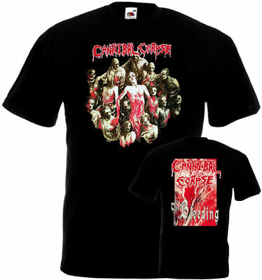 Cannibal Corpse The Bleeding Double Sided T-shirt black death metal sizes S-5XL