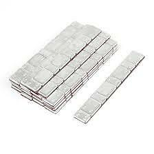 5 x STRIPS OF STICK ON ADHESIVE CAR WHEEL BALANCE WEIGHTS CAR VAN MOTORBIKE