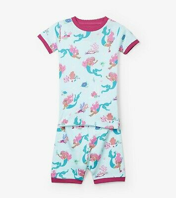New Hatley Mermaid Tales Short Organic Cotton Pyjama Pajamas PJ3 4 5 6 7 8 10 12