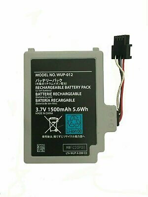 Wii U Gamepad Battery 1500mAh 3.7V for Nintendo Controller WUP-012  Replacement