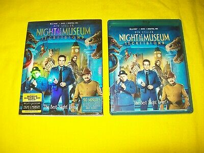 Night At The Museum Secret Of The Tomb Bluray & Dvd With Slipcover