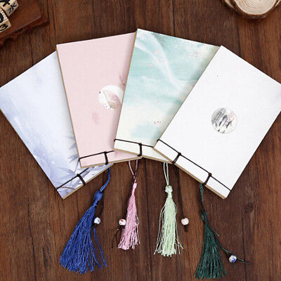 Retro Creative Notebook Memos Journals for Diary Handmade Colorful Pages HOT  EK