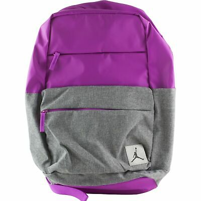 5cad8b5df6ba Nike Air Jordan Jumpman Pivot School Backpack Book Bag College Kids Fuschia  Pink