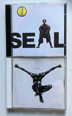 SEAL 2 CDs 1991, 1994 Crazy, Killer, Kiss From A Rose, Prayer For The Dying