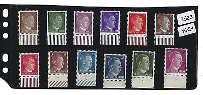 #3523  MNH stamp set / Adolph Hitler / Third Reich / Nazi Germany / FREE HOLDER!