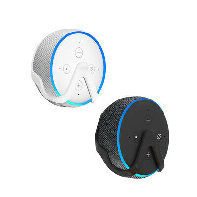 Holder Wall Mount For Amazon Echo Dot 3 Space-Saving Compact Kitchen Durable