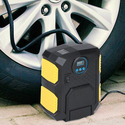 Intelligent Car Truck Van Digital Tyre Tire Inflator Air Compressor Pump + Light