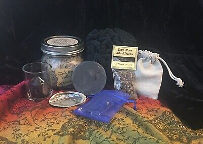 HUGE WITCHCRAFT HERB KIT W/ chalice Witch WICCA Pagan Candle Sage