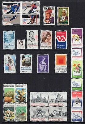 US 1980 NH Commemorative Year 1795-98 1803-10 1821-43 - 35 Stamps -Free USA Ship