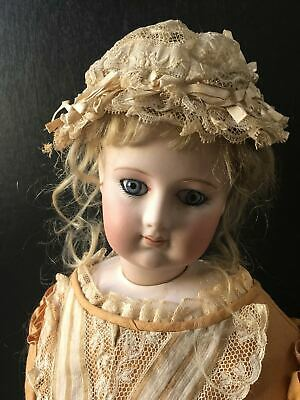 "Antique early Barrois fashion doll poupee peau 24"" excellent condition ca.1865"