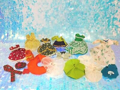 1950s Vintage Ginny Vogue Doll Clothes Dress Skirts Lot Tagged + Handmade BD44