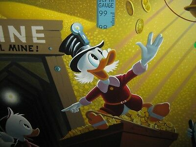 Carl Barks - Rich Finds At Inventory Time Limited Edition #484/500 Serigraph