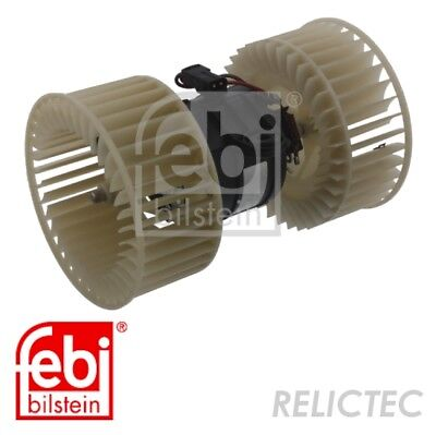 Interior Heater Blower Fan Motor BMW:E39,E53,5,X5 64118385558