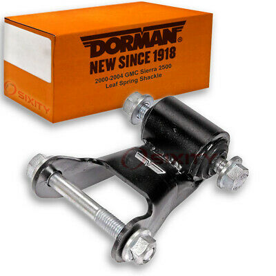 Dorman Rear Rearward Leaf Spring Shackle for GMC Sierra 2500 2000-2004 - di