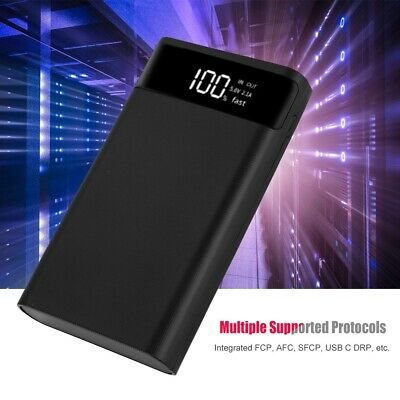 20000mAh LED Type-C Two-way Fast Charging Power Bank Nesting Case Powerbank Box