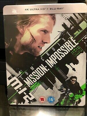 Mission Impossible II - 4K Ultra HD / BLU-RAY- Limited Edition Steelbook! NEW!