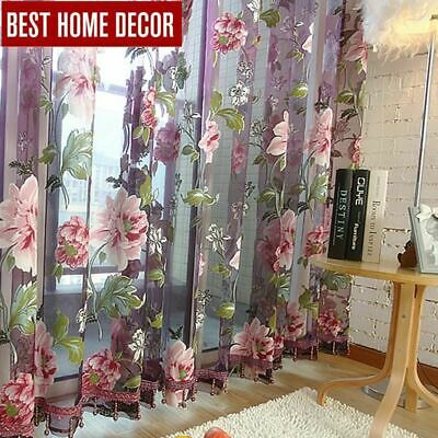 decor drapes sheer window curtains for living room the bedroom kitchen modern tu