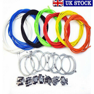 Jagwire Front&Rear Brake Gear Cable Set Inner Outer fr MTB Mountain Bike Bicycle