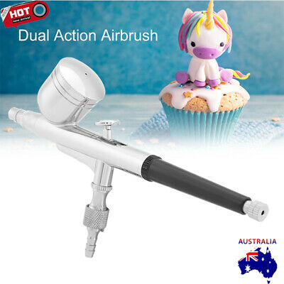 Dual Action Airbrush 0.2-0.5mm Nozzle Air Brush Spray Gun Art Tattoo 7CC Ink Cup