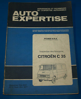 RTA Auto Expertise N°67 Sept-Oct 1977 Citroën C35