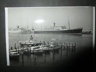 Vintage 1950s photograph Album from various Cruises with Ships / Liners + family