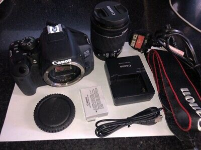 Canon EOS 700D 18.0MP Digital SLR Camera - Black Kit w/ EF-S 18-55mm IS STM Lens