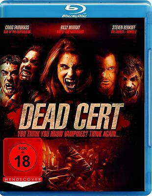 Dead Cert - You think you know Vampires? Think again  FSK 18 Bluray NEU