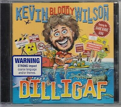 KEVIN BLOODY WILSON - DILLIGAF - CD: Missin' the missus, The shane warne song