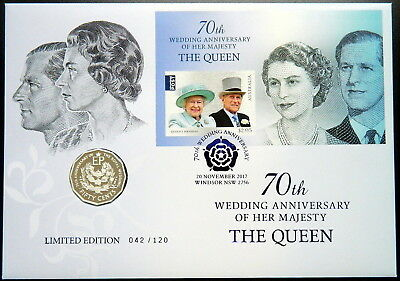 2017 Australia 70th Wedding Anniv HRM The Queen PNC Limited Edition 042/120