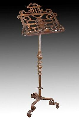 Wrought Iron Lectern, 20th Century