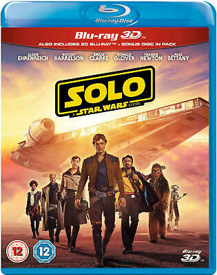 bluray 3D Solo : A Star Wars Story