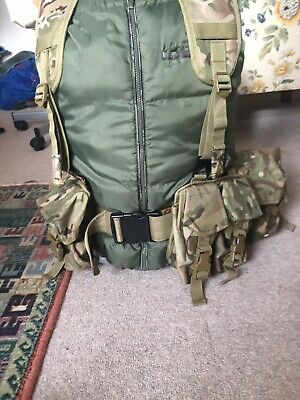 British Army Style MTP Webbing Set/ Very Good Condition