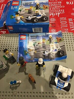 Lego City Police Minifigures Collection 7279 Neuf