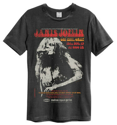 Janis Joplin 'Madison Square' T-Shirt - Amplified Clothing - NEW & OFFICIAL!