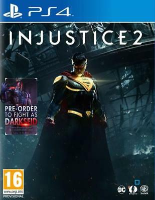 Injustice 2 - PS4 IMPORT Neuf sous Blister
