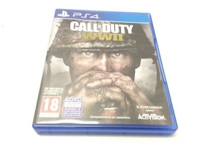 Juego Ps4 Call Of Duty Wwii Ps4 No Dlc 4455115