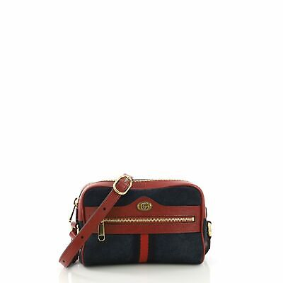 3f223d5d187 GUCCI OPHIDIA DOME Shoulder Bag Suede Small -  1