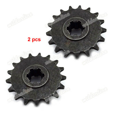 2x 17T Drive Chain Sprocket For 43cc 49cc Mini Dirt Moto Scooter 8mm BF05T Chain