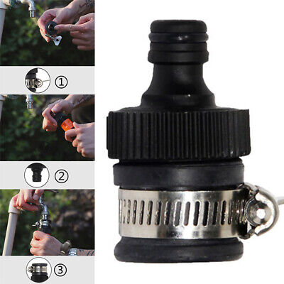 1Pc Universal Garden Kitchen Hose Pipe Connector Adaptor Tap Fitting Quick Mixer