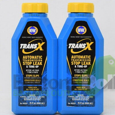 TRANSMISSION STOP LEAK Seal Conditioner automatic auto Tranny SeaLer