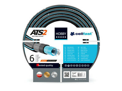 """Cellfast Garden Hoses Watering 1"""" 1/2"""" 3/4"""" 10m 20m 30m 50m MADE in EUROPE"""