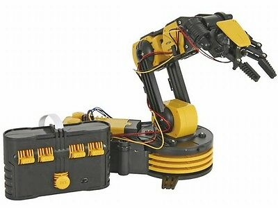 Robotic Arm Construction Kit Remote Controller Science Creative Toy UK Stock NEW