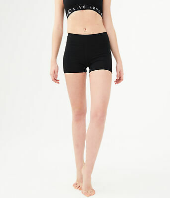 9f297f788bd40 AEROPOSTALE WOMENS LLD solid fuzzy lace-up shorts - $4.99 | PicClick
